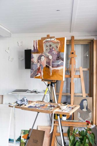 How Elaine Wright-Williams ditched the corporate ladder to become a full-time artist