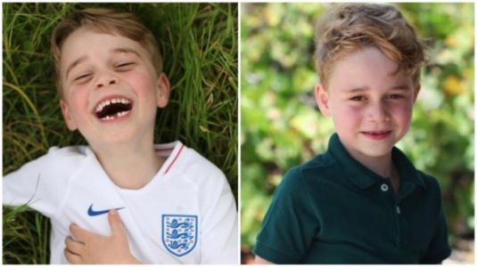 Kensington Palace releases unseen pictures of Prince George clicked by Kate Middleton on birthday