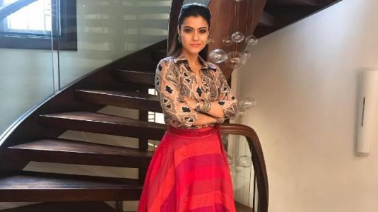 Kajol makes terrible fashion blunder with print-on-print outfit. See pics