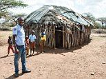 A peek inside a Samburu tribe hut, where traditions still continue