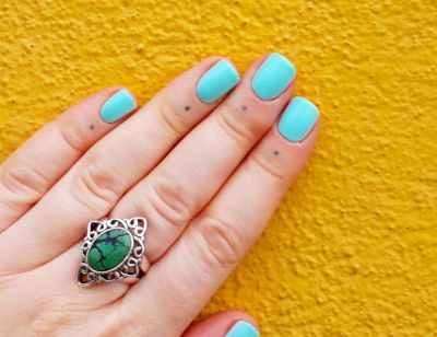 The cuticle tattoo trend is the perfect way to show off your manicure