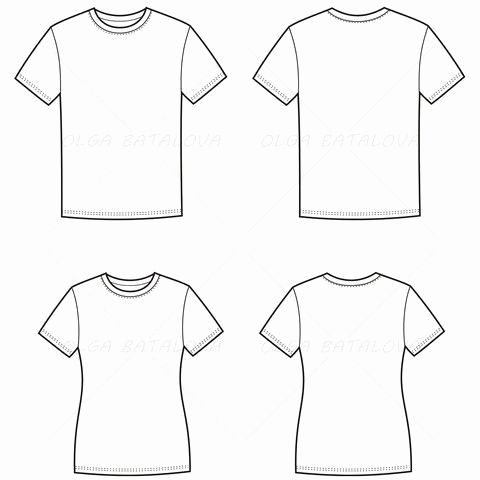 30 Beautiful V Neck T Shirt Template Graphics