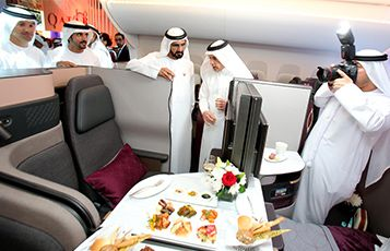 Qatar - first with high-speed broadband on flights