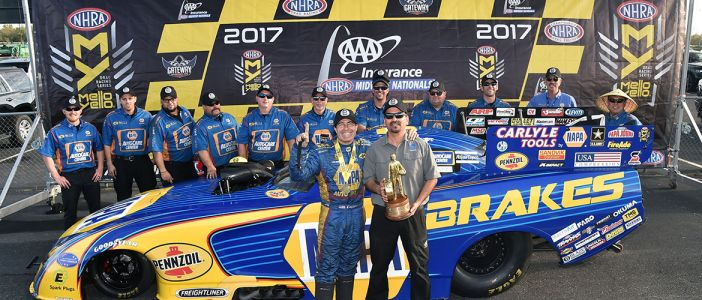 Capps Doubles Up at Midwest Nationals, Earns Second Straight Win for Dodge