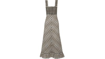 The Checked Maxi Dress Maura Wants to Make Her Feel Like a Danish Cool-Girl