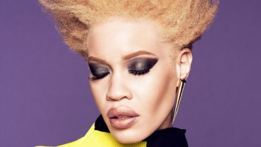 Diandra Forrest Is The First Model With Albinism To Star In A Major Beauty Campaign