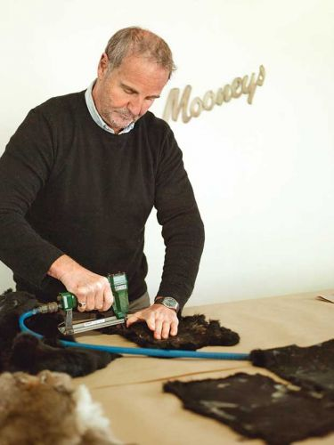 From pest to pretty: A Dunedin furrier transforms pelts into soft furnishings