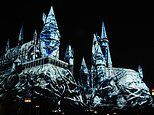 Harry Potter fans treated to a new Dark Arts light show on Hogwarts Castle at Universal Studios
