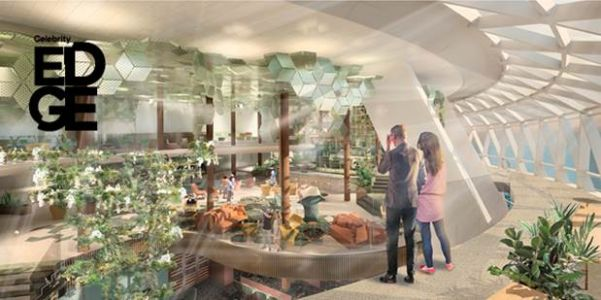 Celebrity Cruises reveals garden of eden on Edge