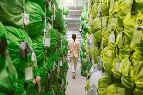 Factory Tour: Eileen Fisher Helps Make the Eco-Fashion Dream of Circularity Come True