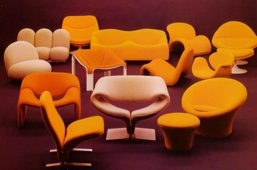 Furniture by Pierre Paulin