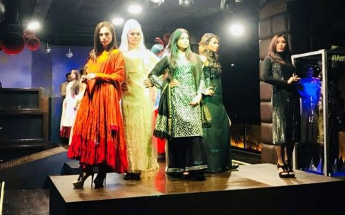 Transgender models catwalk at a unique fashion show in Delhi