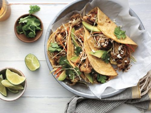 Roasted Cauliflower Tacos, Plus 4 More Easy Dinner Recipes