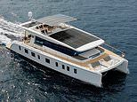 Cutting-edge eco yacht is powered by 30 solar panels on the roof
