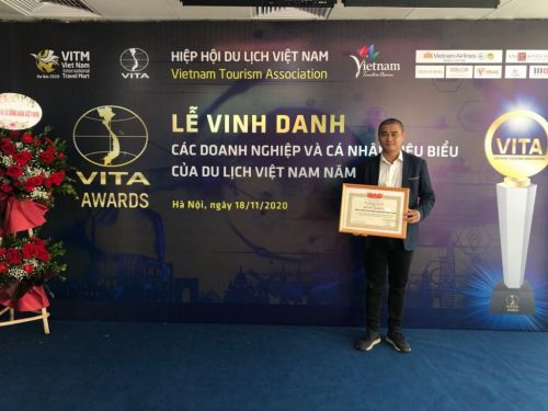 Luxury Travel received the award of outstanding Vietnam enterprise for welcoming the most European tourists in 2019