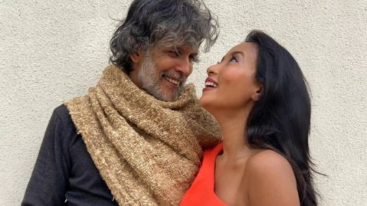 Ankita Konwar kisses her forever love Milind Soman in throwback pic from Berlin. See post