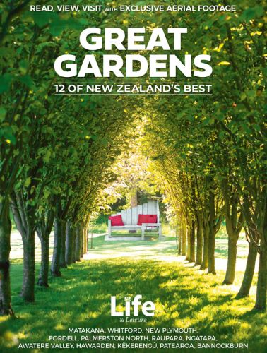 Be in to win one of three copies of Great Gardens: 12 of New Zealand's Best, valued at $19.90 each