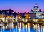 Rome: Climb aboard a nippy Vespa to take in the ancient sights of the Eternal City