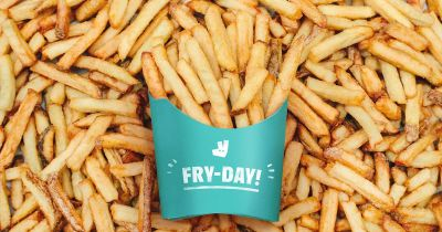 Deliveroo is giving out free fries today