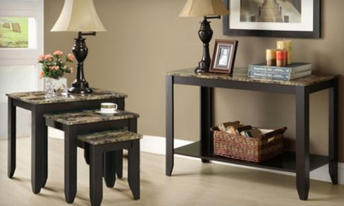 49 Awesome Console Table with Chairs Pictures