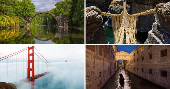 We can't get over these breathtaking bridges