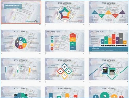 30 Fresh Ppt Presentation Template Free Download Graphics