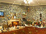 The quirky New Zealand home adorned with more than 1,000 shells now in Canterbury Museum
