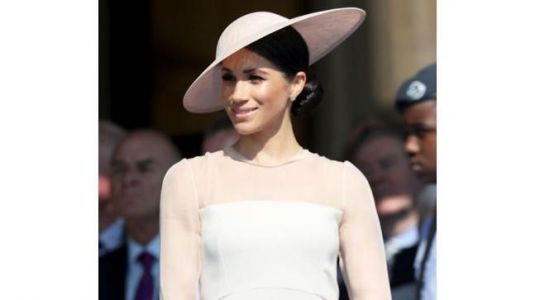 Meghan Markle in a sheer gown is setting fashion goals