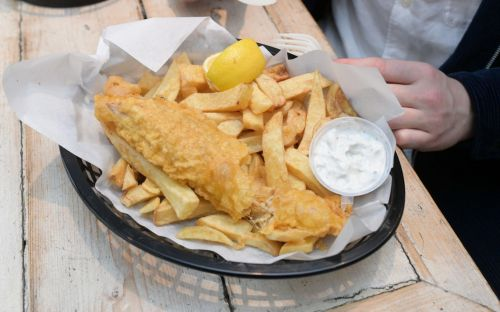 Britain's first vegan fish and chip shop has opened. But how does it taste?