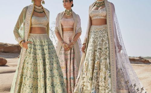 Anita Dongre's limited edition Pichwai collection has just launched for 2019 brides