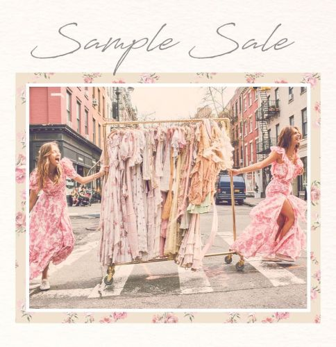 LoveShackFancy Sample Sale, 5/20 - 5/23, New York City