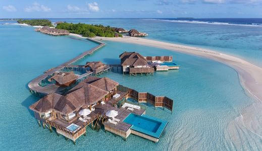 Luxury hotels around the world that blend into its surrounding nature