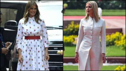 Melania and Ivanka Trump go white for Day 2 of India visit; latter opts for Anita Dongre sherwani