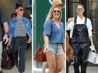 This Week, Celebs Go Extra Glam with Bags from Chanel, Valentino and Saint Laurent