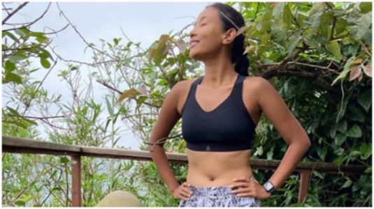 Ankita Konwar's workout session in the hills of Lonavala was absolutely fab. See post