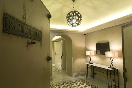 Vault Karaköy combines ancient heritage with contemporary art into a luxury hotel
