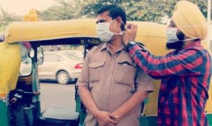 Only masks can save you from air pollution in Delhi