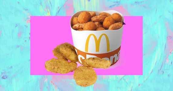 McDonald's launches a share bucket of McNuggets and Cheesy Bites