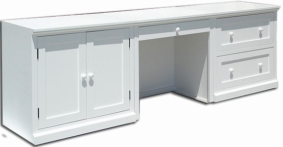 30 Unique White Desk with File Cabinet Images