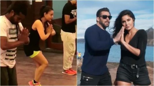 Ameesha Patel copies Katrina Kaif in Swag Se Swagat viral video. Who will Salman Khan vote for?