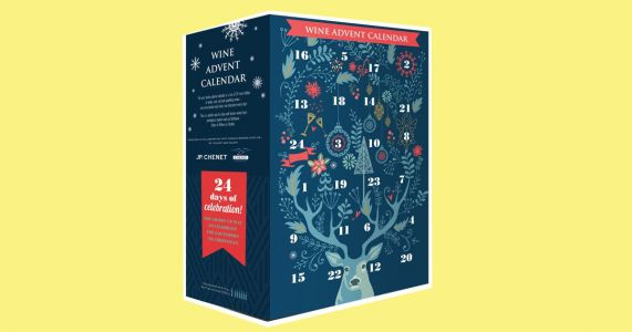 Aldi have just launched a wine advent calendar