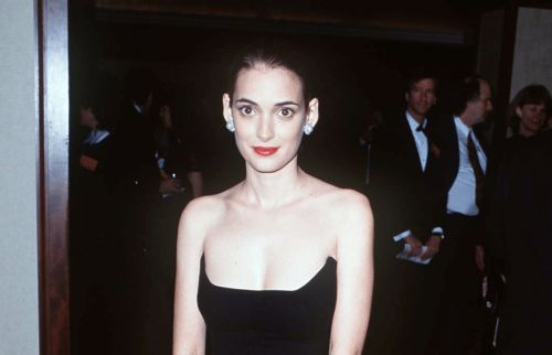 Great Outfits in Fashion History: Winona Ryder's Frequently Re-Worn Armani Dress