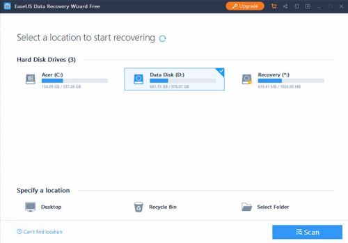 EaseUS Data Recovery For Windows Reviewed