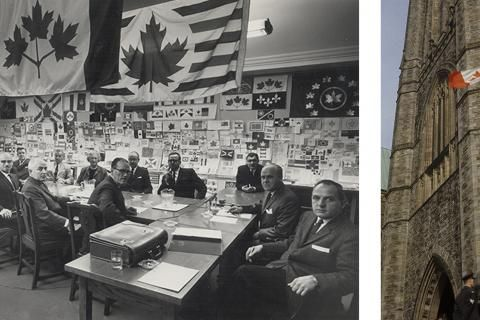 Four flags that almost became Canada's national flag
