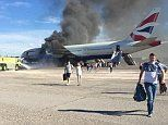 'Engine crack' caused BA Las Vegas fire and the captain was to blame for the chaotic evacuation