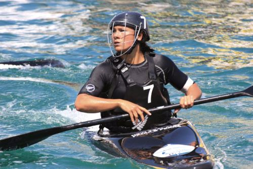 New Zealand canoe polo champion Jordan Aria Housiaux paddles own path