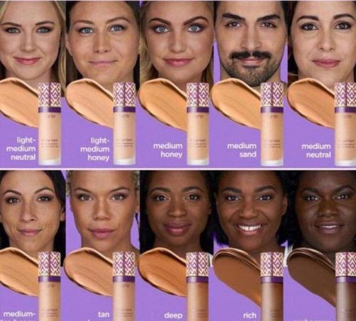 Do cosmetics companies think black people only come in two colours?