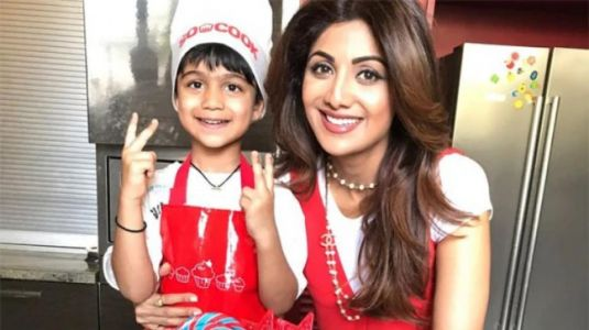 Shilpa Shetty's son Viaan beats her at rock climbing. Watch hilarious video