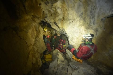 How Canada's deepest cave, Bisaro Anima, got its name