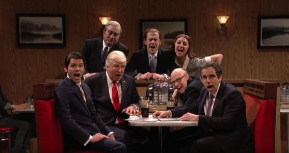 The Trump administration meets 'The Sopranos' in SNL's cold open